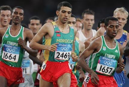 Hicham El Guerrouj réalise le doublé 1500-5000m tout comme Paavo Nurmi
