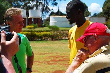 Eamonn Coghlan à la rencontre de Brother Colm O'Connell et de David Rudisha, recordman du monde du 800 mètres