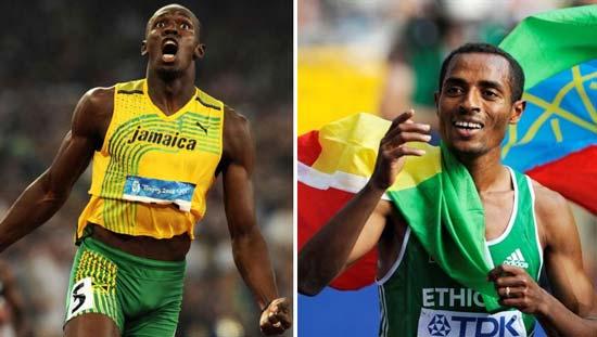 Le duel Usain Bolt - Kenenisa Bekele enfin réalité !