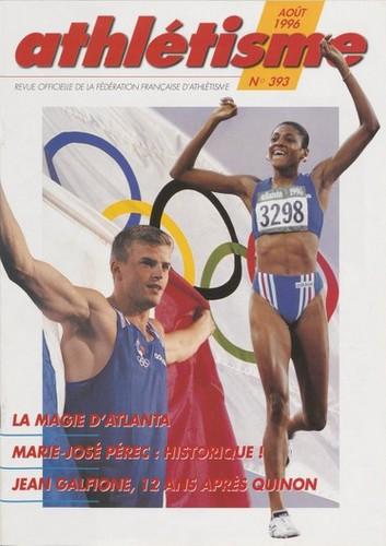 Qui faisait la Une de l'athlétisme français en 1996 ?