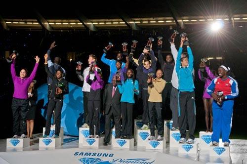 Renaud Lavillenie et David Rudisha parmi les vainqueurs de la Diamond League 2010 réunis à Bruxelles
