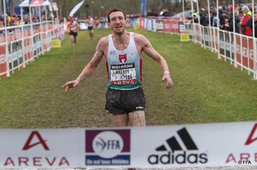 Benjamin Malaty, champion de France de cross-country 2012Benjamin Malaty, champion de France de cross-country 2012