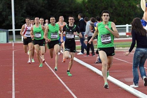 Bryan Cantero, champion de France Elite 2012 en salle sur 1500m