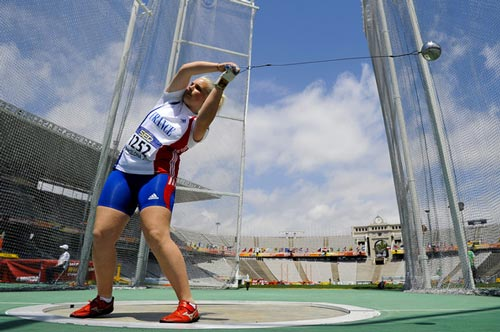 Alexia Sedykh, vice championne du monde / ©David Ramos
