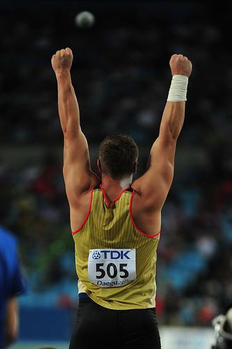 David Storl, champion du monde en titre, vers le titre olympique à tout juste 21 ans ?