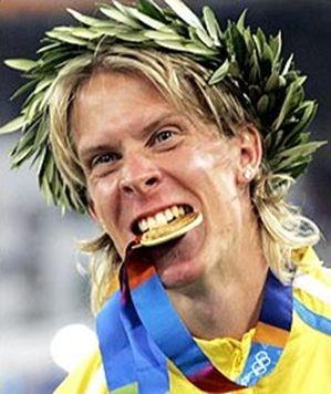 Avec son titre olympique à Athènes, le Suédois a tout gagné !