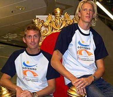 Christian Olson et son coach Yannick Tregaro