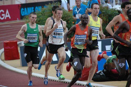 Yoann Kowal, sur le 1500m, sera l'un des seuls français ce soir à Lausanne