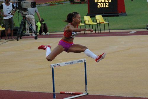 Aurélie Chaboudez à Herculis 2012 / © Culture Athle