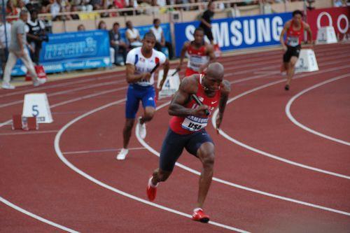 Le relais américain du 4x100 mètres a signé ce soir la meilleure performance mondiale de l'histoire en meeting / © Culture Athle